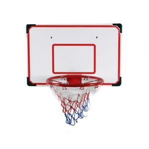 ODG Tabellone Canestro Basket Da Muro Con Retina Pallone Pompa E Kit Di Montaggio