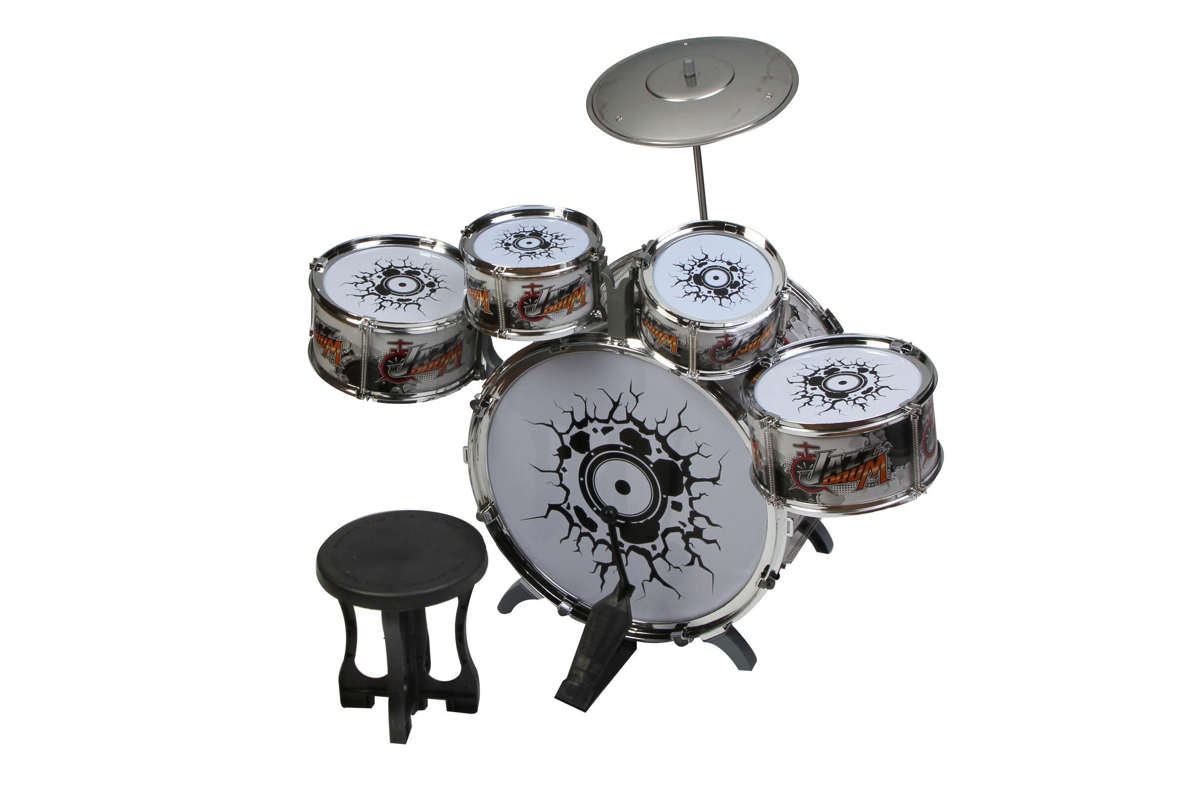 ODG Gioco Strumenti Batteria Per Bambini Batteria Musicale Rock Grande
