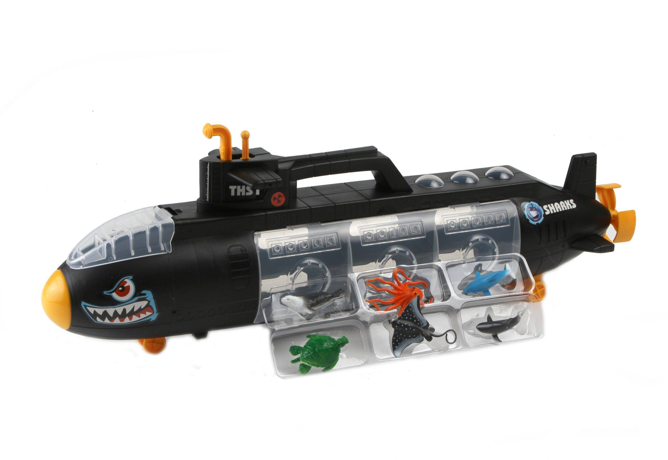 ODG Sottomarino Con Animali Del Mare