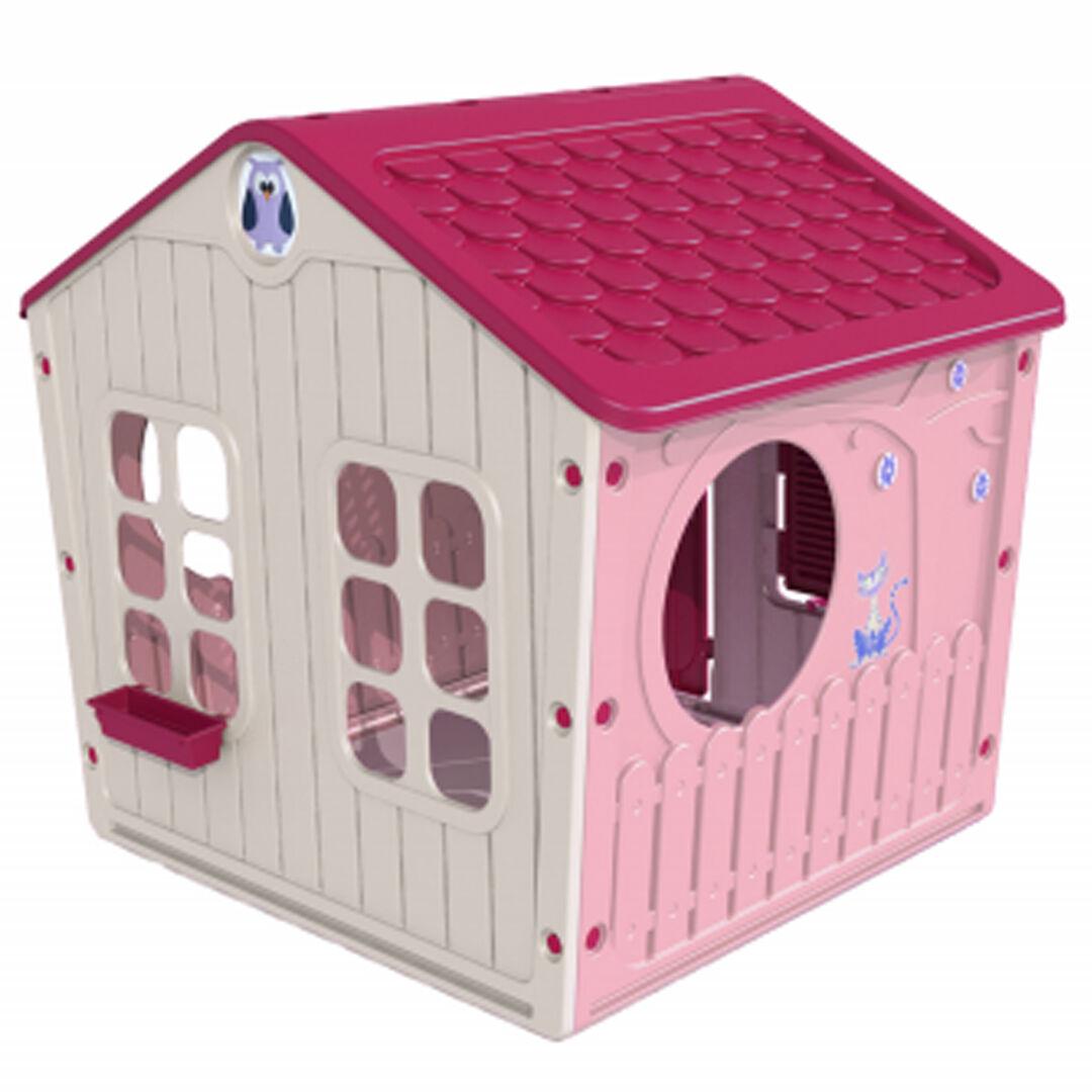 ODG Casa Gioco Per Bambini Grande Casetta Da Giardino Idea Regalo Altezza Cm. 118