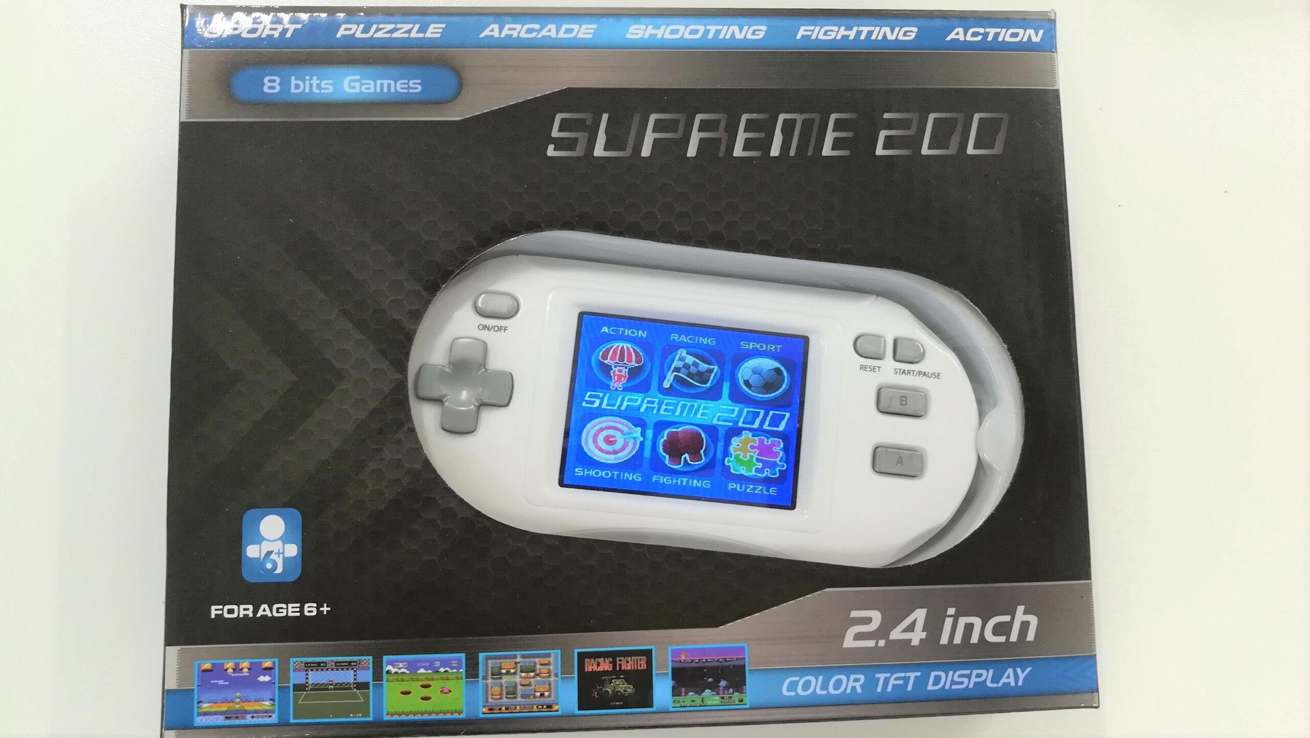 ODG Console Portatile 200 Giochi 8 Bit