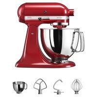 Kitchenaid Robot artigianale rosso da 4,8 litri 1 unità (Rosso)