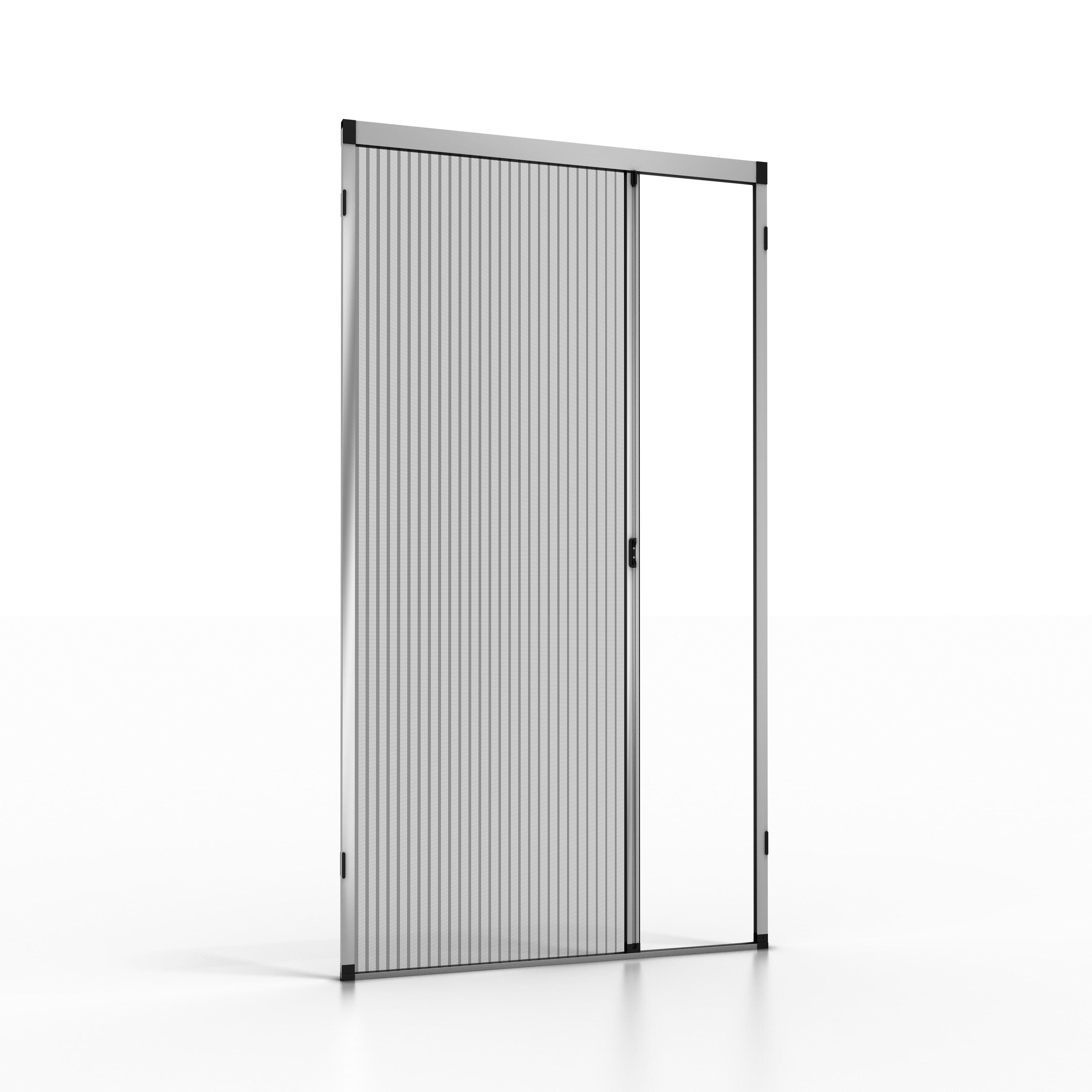 noflystore zanzariera plissettata per porta e porta-finestra noflystore platinum.02
