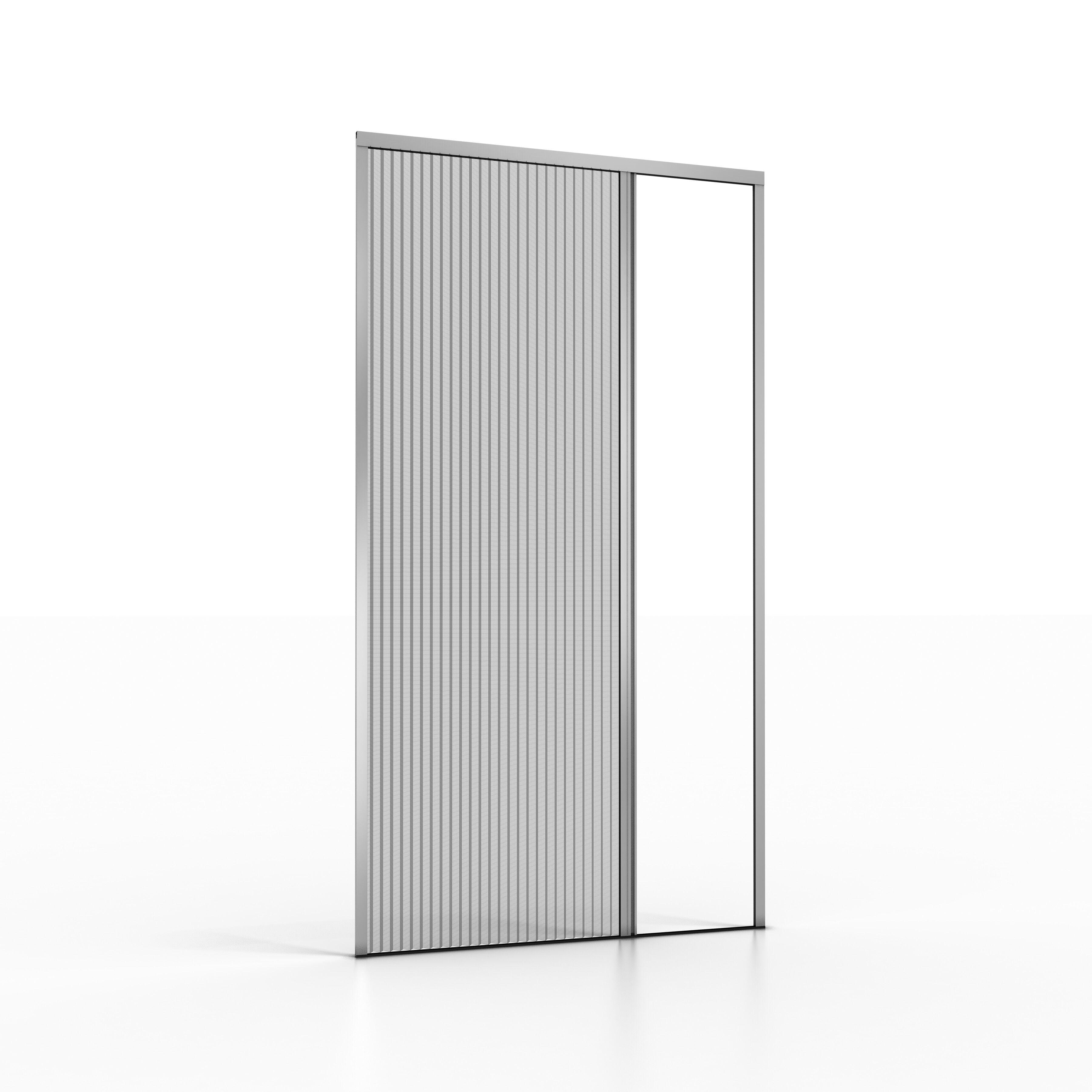 noflystore zanzariera plissettata per porta e porta-finestra noflystore platinum.05