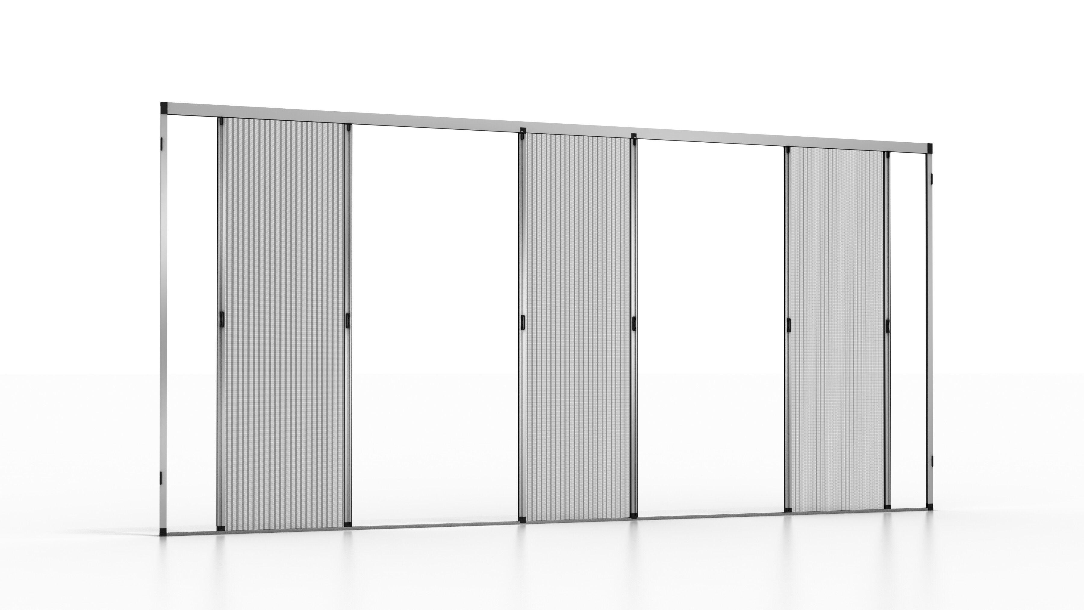 noflystore zanzariera plissettata per porta e porta-finestra noflystore platinum.04
