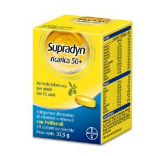 bayer biologicals srl supradyn ricarica 50+ 30 compresse