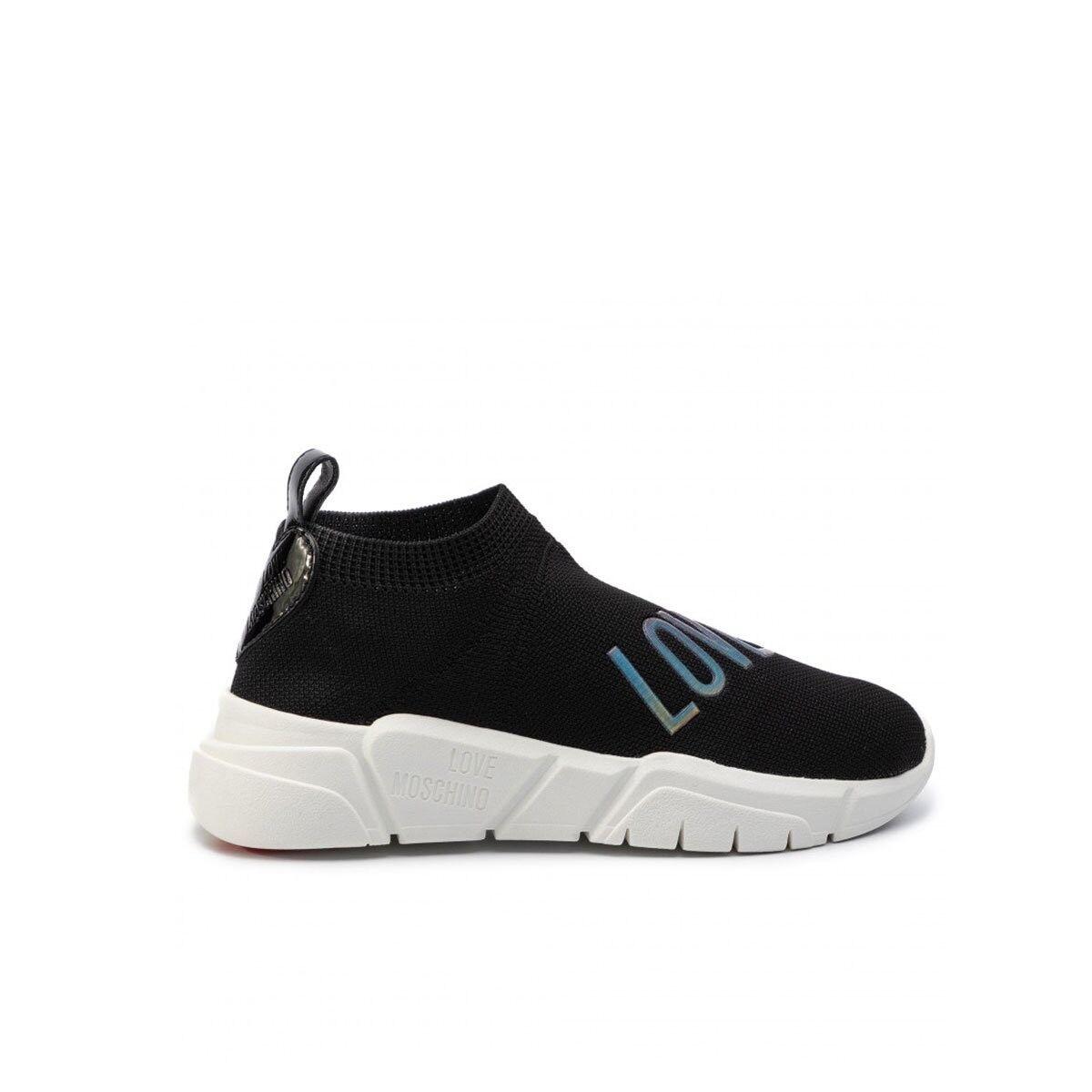 Love Moschino Scarpa Sneakers Donna Moschino Nera Ja15343g18iw
