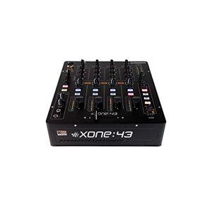 Allen & Heath Xone:43 4channels 20 - 20000Hz Black - Audio Mixers (4 channels, 24 bit, 20 - 20000 Hz, 20 dB, 0.05%, 3.5 mm)