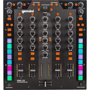 Gemini PMX-20   Mixer DJ a 4 canali con interfaccia audio MIDI e 4 In/4 Out