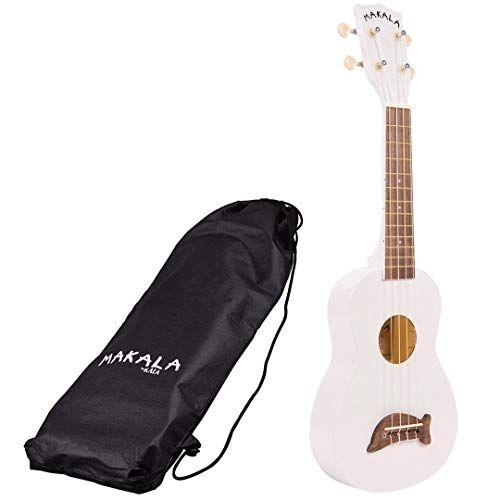 makala mk di s ukulele soprano (mk scheda di memoria sd pw) colore bianco perla