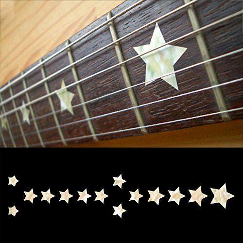 inlaystickers - pennarelli per chitarra e basso everly brothers stars - white pearl f-093eb-wt
