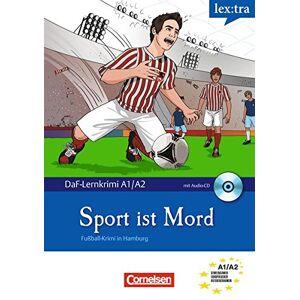 Aa.Vv Lextra - Deutsch als Fremdsprache - DaF-Lernkrimis: SIRIUS ermittelt: Lextra Sport is mord + CD: Fuball-Krimi in Hamburg ISBN:9783589020423