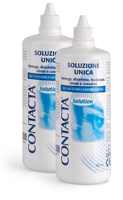 sanifarma srl soluzione per lenti a contatto contacta 2 pezzi 360 ml