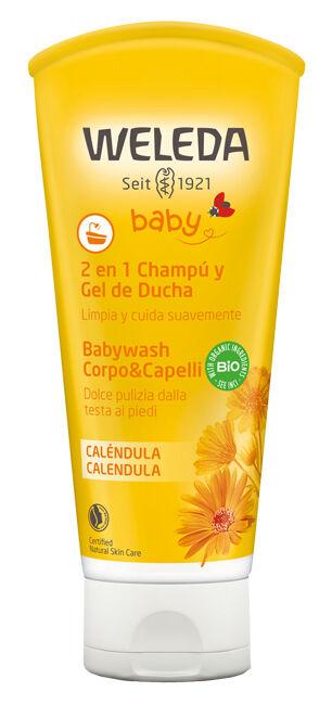 Weleda Babywash Corpo&capelli Calendula 200 Ml