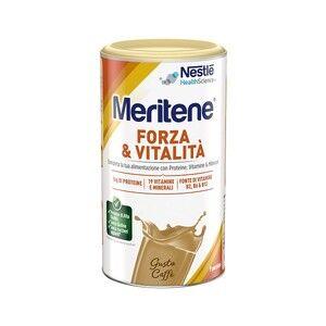 nestle' it.spa(healthcare nu.) meritene polvere protein gusto caffè integratore alimentare 270g