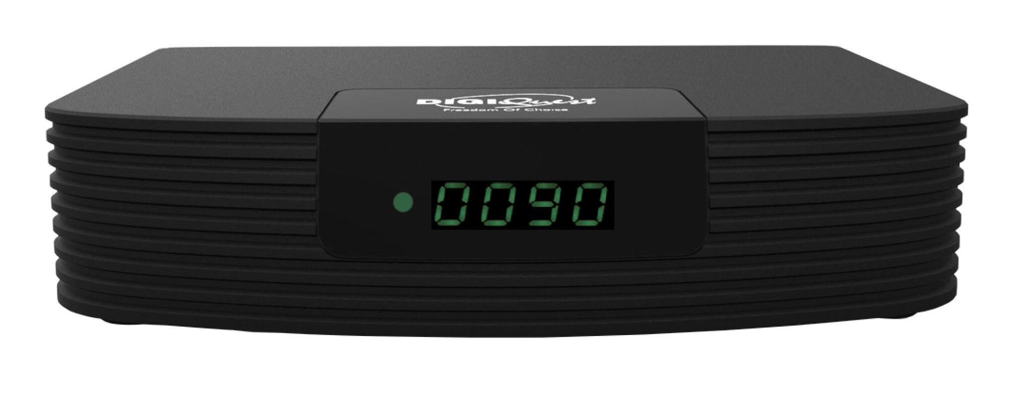DIGIQUEST DGQ990 HD Decoder Terrestre Full HD REC Doppio Telecomando