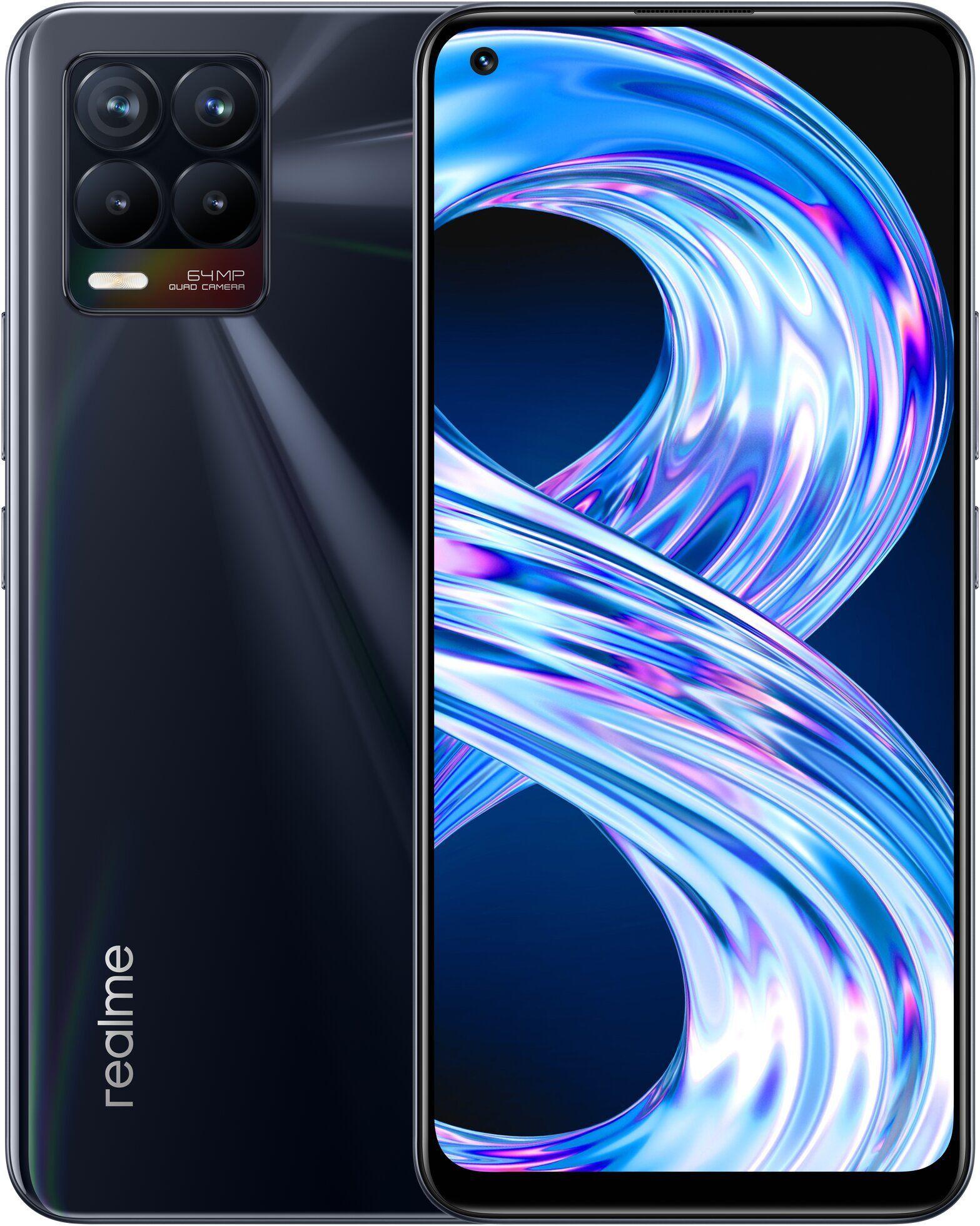 realme 8 16,3 cm (6.4) doppia sim android 10.0 4g usb tipo-c 6 gb 128 gb 5000 mah nero