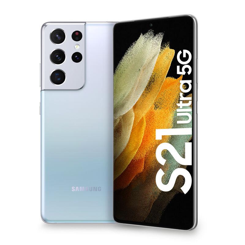 """Samsung Galaxy S21 Ultra 5G 256 GB Display 6.8"""" Dynamic AMOLED 2X Phantom Silver"""