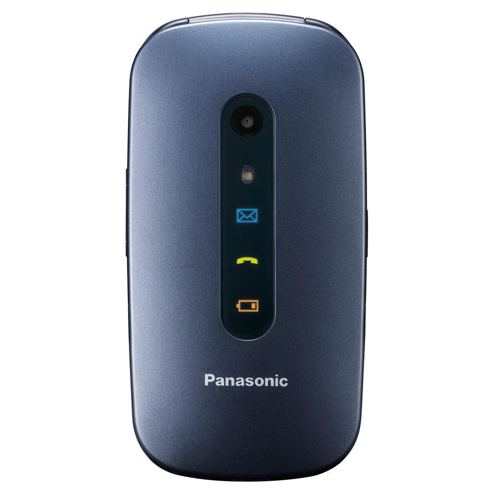 "Panasonic KX-TU456 6,1 cm (2.4"") 110 g Blu Telefono cellulare basico"