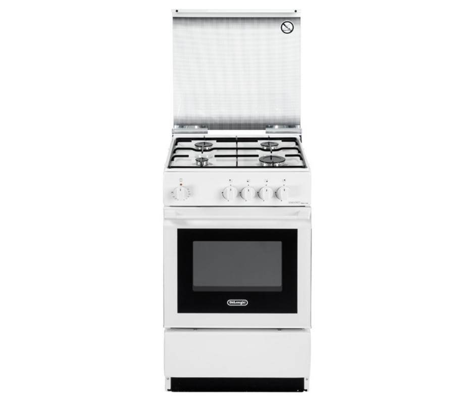 DeLonghi SESW 554 NED cucina Piano cottura Bianco Gas B