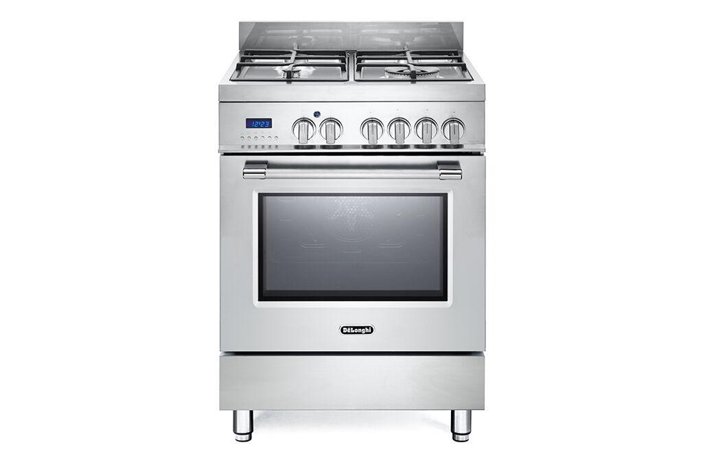 DeLonghi PRO 66 MX ED cucina Piano cottura Gas Acciaio inossidabile A