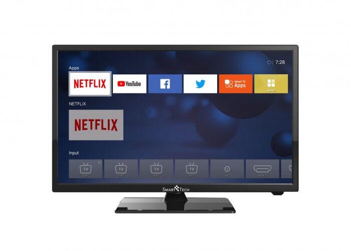 """smart tech smart-tech 24'' hd smart tv 61 cm (24"""") nero"""