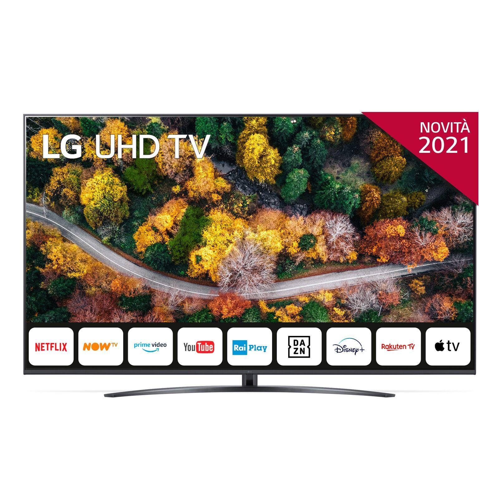 lg 55up78006lb 55 smart tv 4k ultra hd novitÀ 2021 wi-fi processore quad core 4k ai sound
