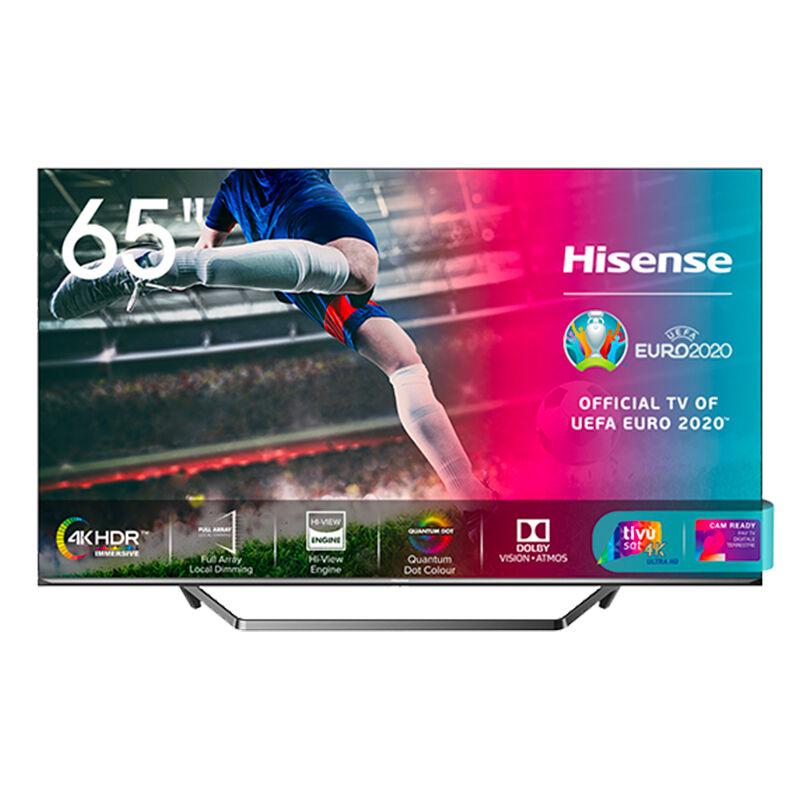 "Hisense 65U72QF TV 165,1 cm (65"") 4K Ultra HD Smart TV Wi-Fi Nero, Grigio"