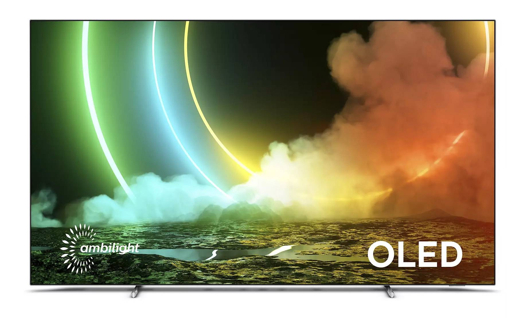 "Philips 65OLED706/12 TV 165,1 cm (65"") 4K Ultra HD Smart TV Wi-Fi Argento"