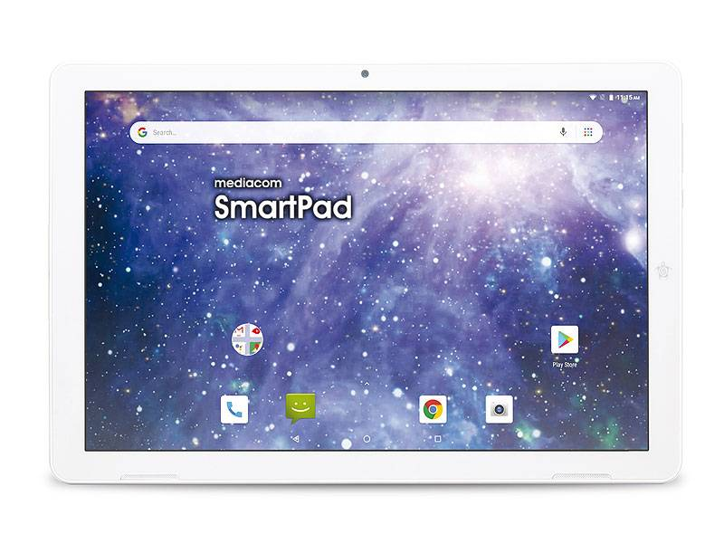"""Mediacom SmartPad M-SP1EY4G tablet 25,6 cm (10.1"""") Spreadtrum 2 GB 16 GB Wi-Fi 4 (802.11n) 4G LTE-FDD Bianco Android 9.0"""