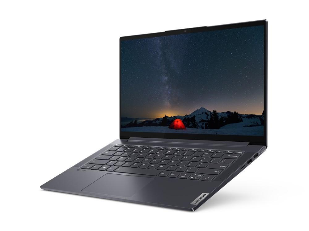 "Lenovo Yoga Slim 7 Computer portatile 35,6 cm (14"") 1920 x 1080 Pixel AMD Ryzen 7 16 GB LPDDR4x-SDRAM 1000 GB SSD Wi-Fi 6 (802.11ax) Windows 10 Home Grigio"
