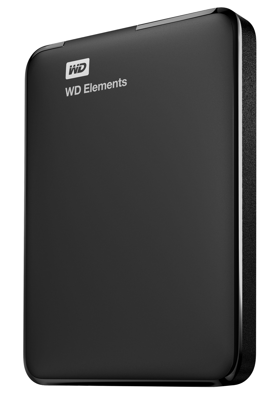 Western Digital Elements Portable disco rigido esterno 2000 GB Nero
