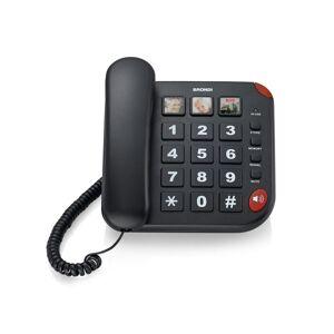 Brondi BRAVO 15 Telefono analogico Identificatore di chiamata Nero