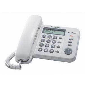 Panasonic KX-TS560EX1W telefono Identificatore di chiamata