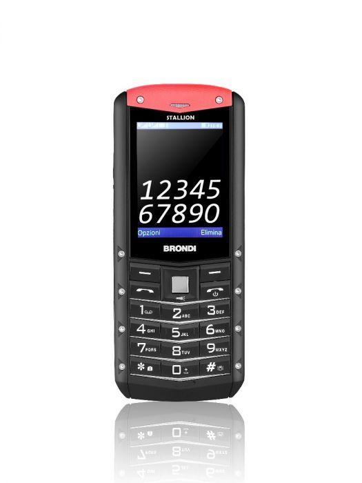 """Brondi Stallion 6,1 cm (2.4"""") Nero Telefono cellulare basico"""