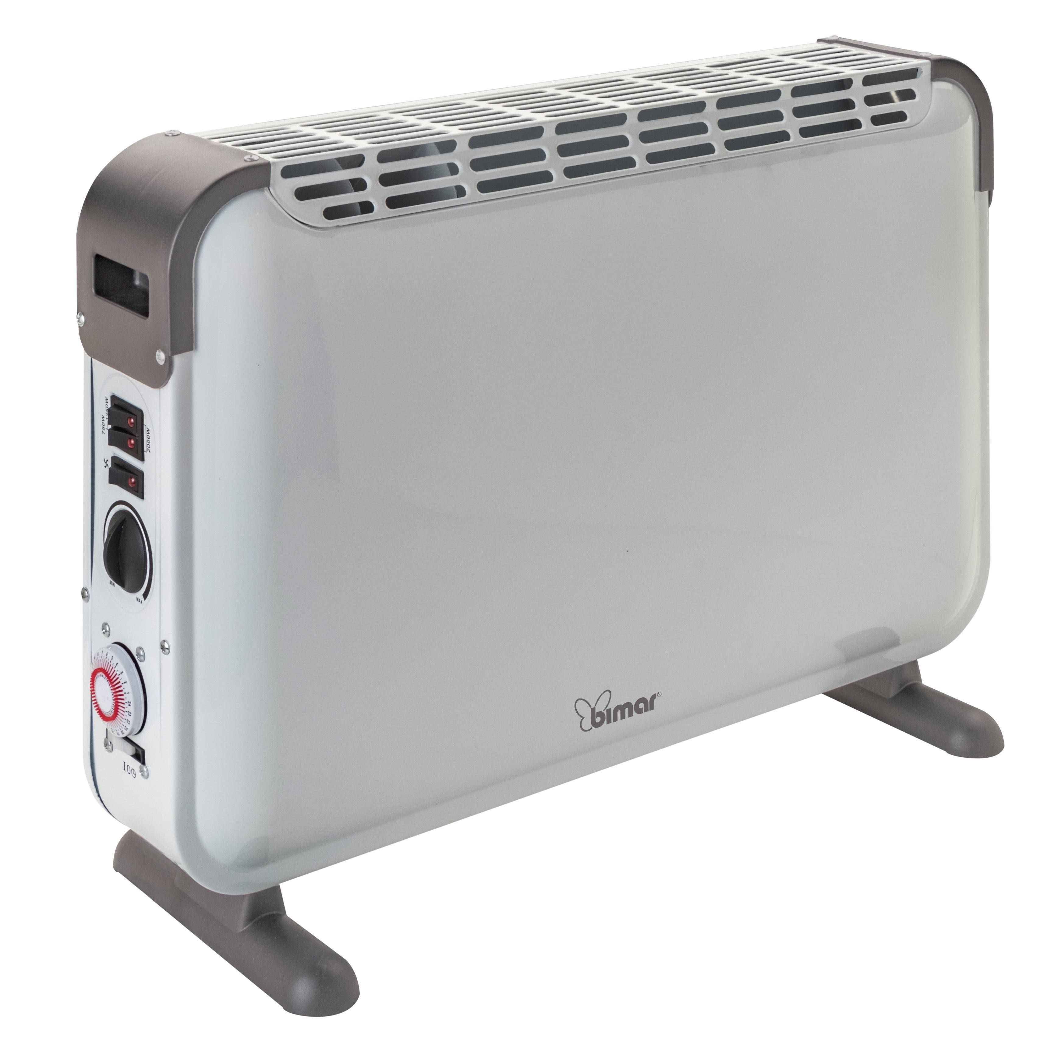 BIMAR HC505 stufetta elettrica Grigio, Bianca 2000 W