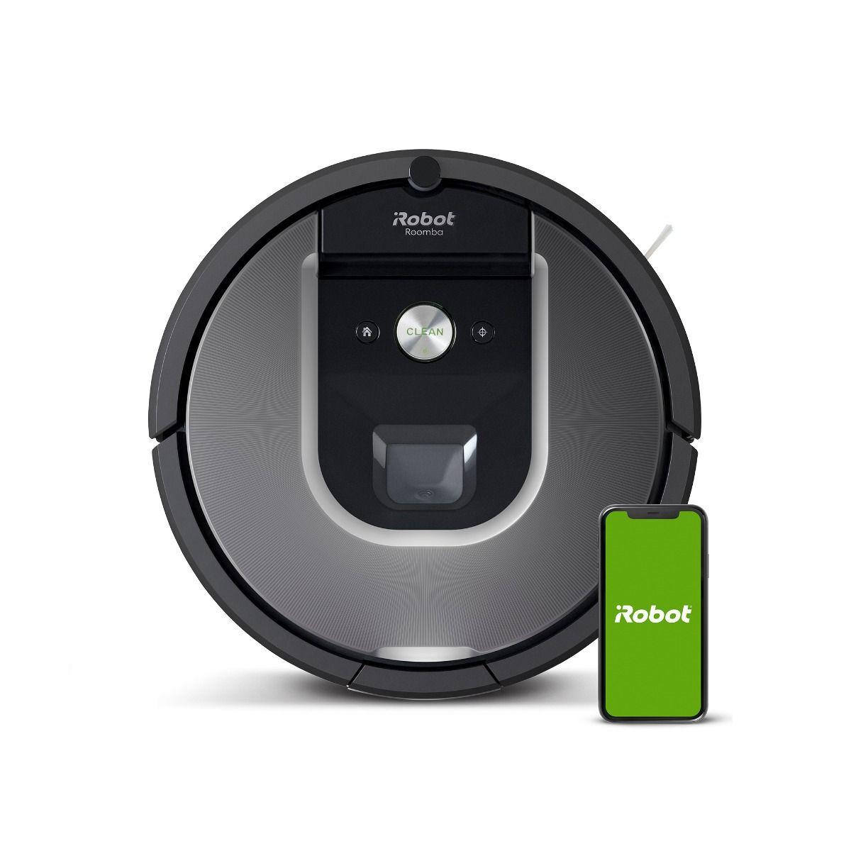 Irobot Roomba 975 aspirapolvere robot 0,6 L Senza sacchetto Grigio