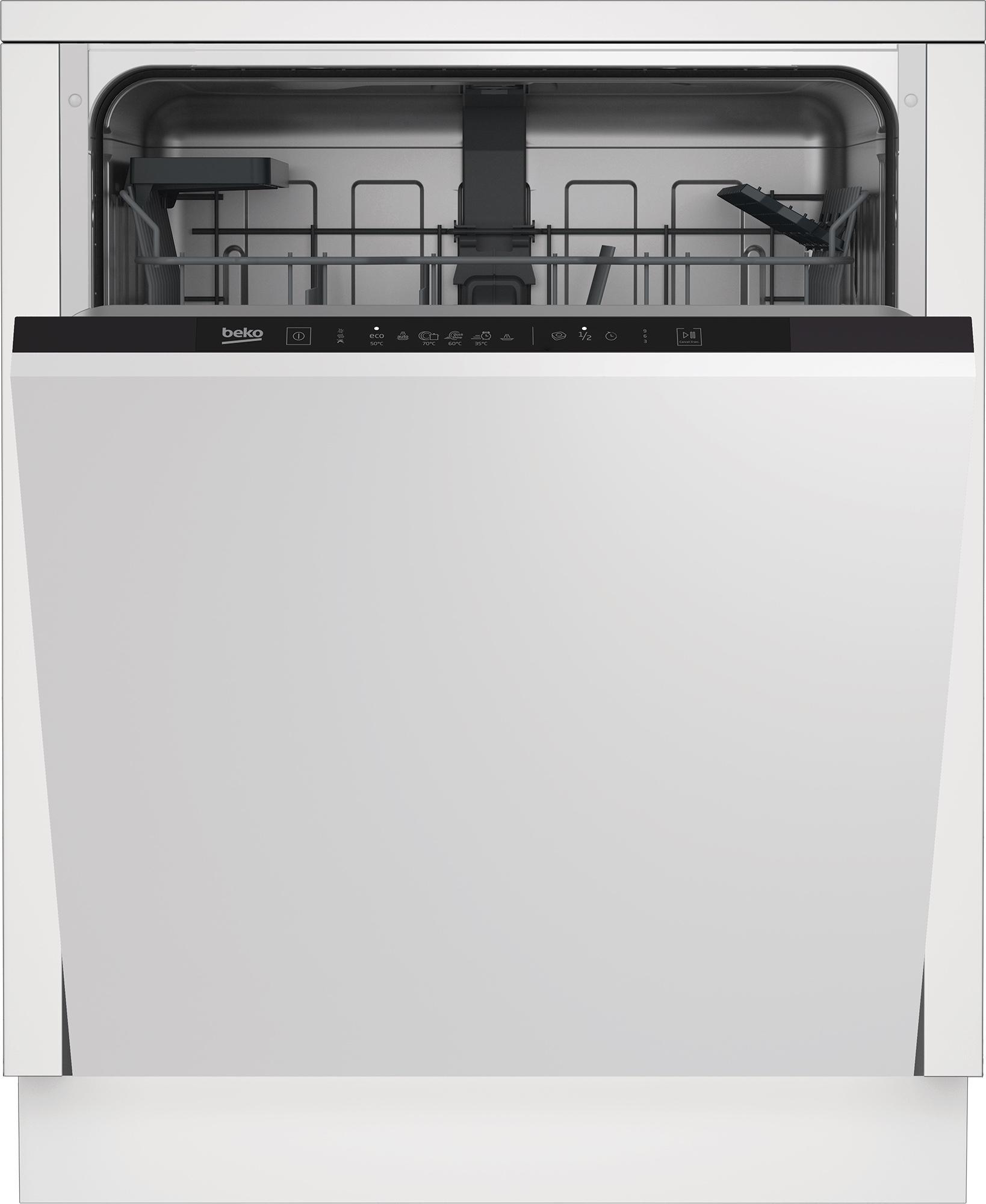beko din36430 lavastoviglie da incasso scomparsa totale 14 coperti d