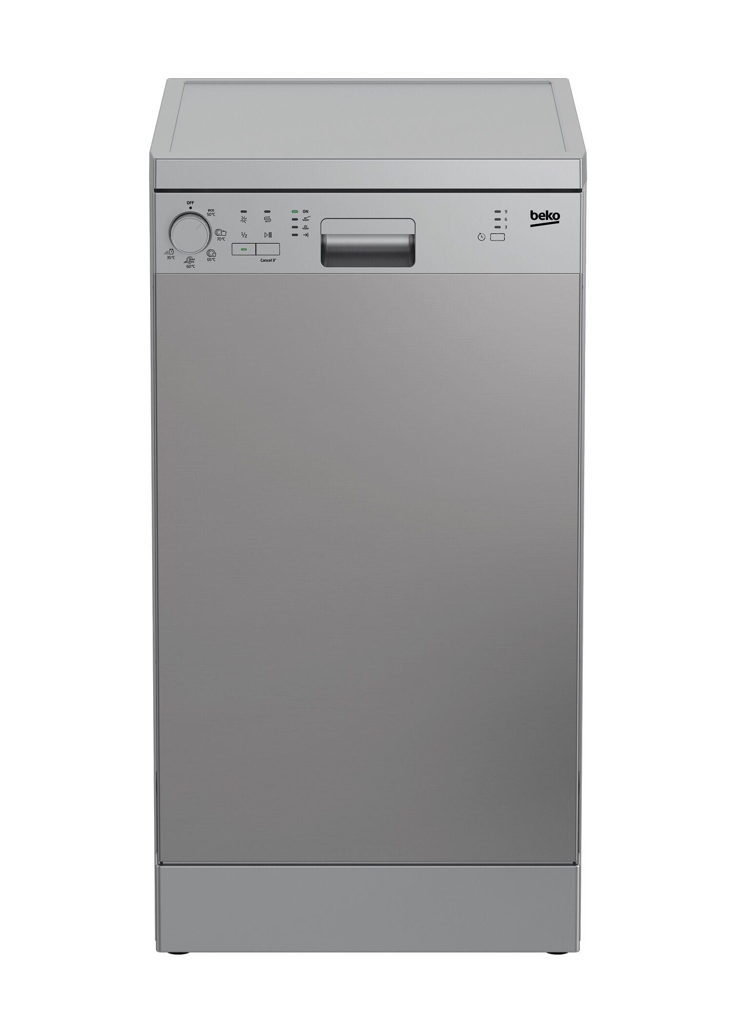 Beko DFS05024X lavastoviglie Libera installazione 10 coperti E