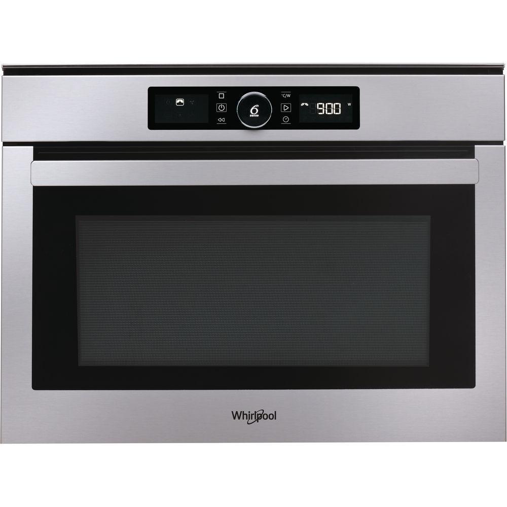 Whirlpool AMW 508/IX forno a microonde Da incasso Microonde con grill 40 L 900 W Acciaio inossidabile
