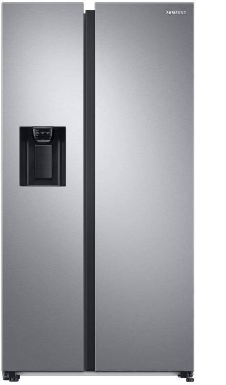 samsung rs68a8842sl frigorifero side-by-side libera 617lt h179 no frost dispenser inox
