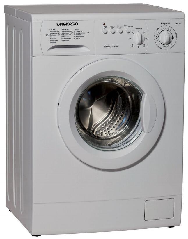 San Giorgio S4210C lavatrice Libera installazione Caricamento frontale 5 kg 1000 Giri/min C Bianco