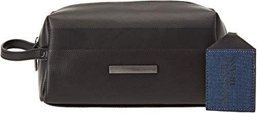 Trussardi Beauty Case  - Ecopelle - Nero E Grigio - 71b00096-9y099999