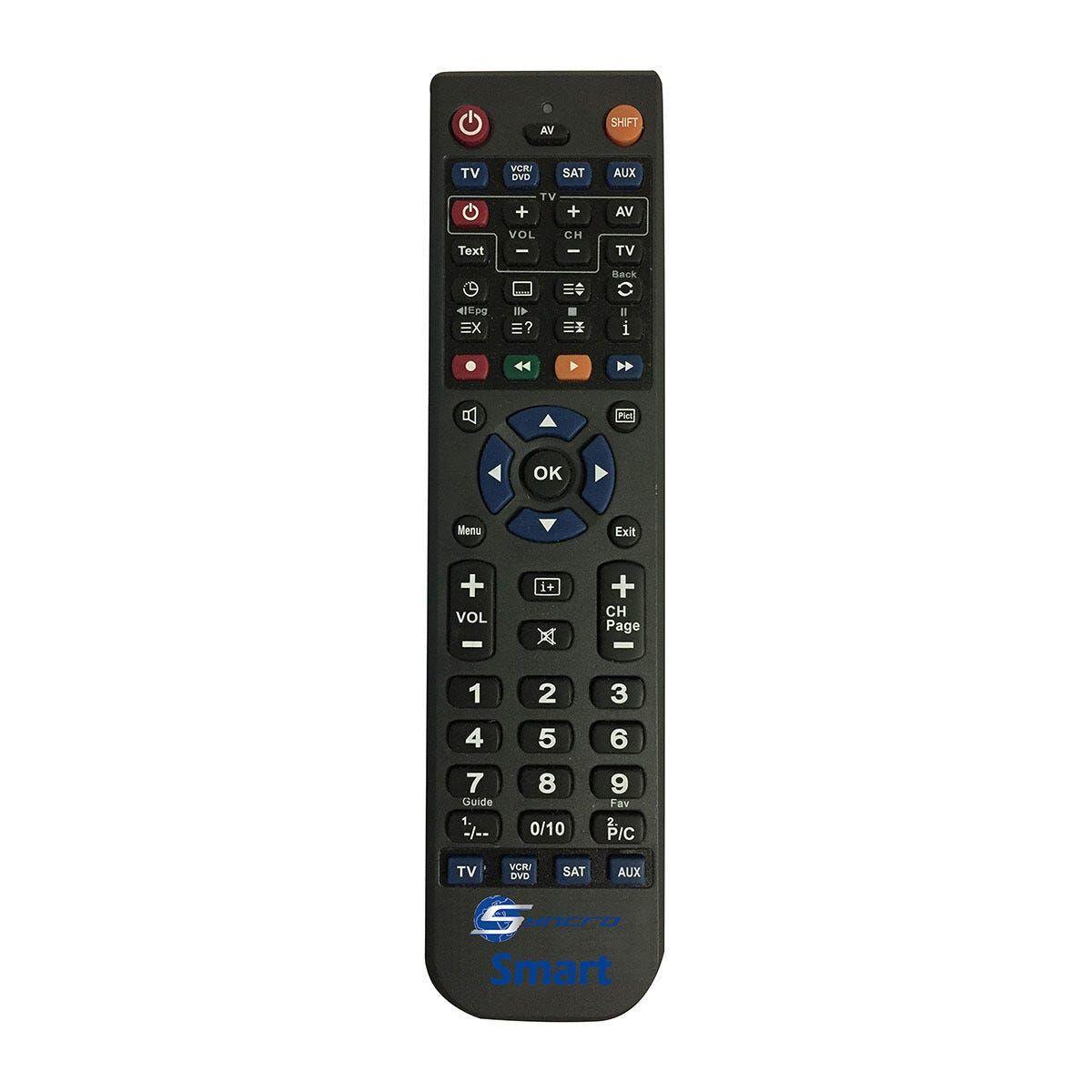 Telecomando Hd Universale Per Tv - Sat Hd - Vcr - Dvd - Aux