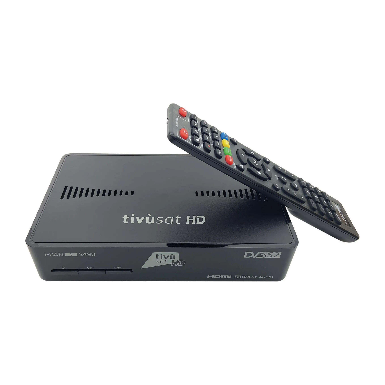 Decoder Satellitare Tv Sat Hd Gestione Scr Tessera Tv Sat Compresa