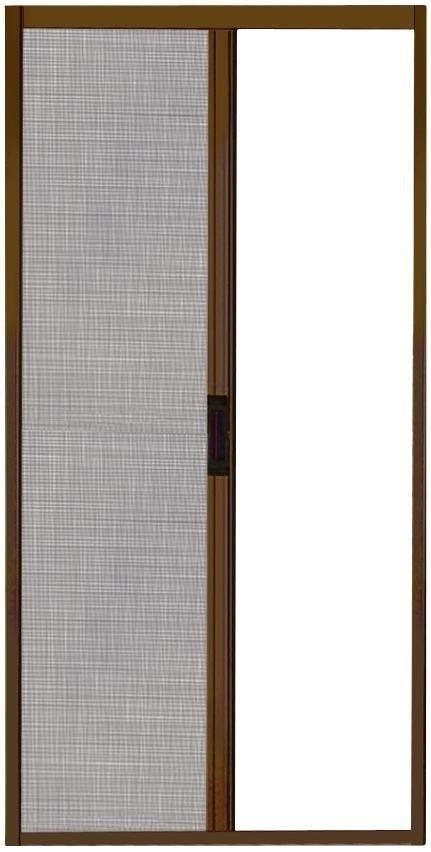 zanzariera a rullo marrone ral 8014 con chiusura magnetica 160x250 (lxh)