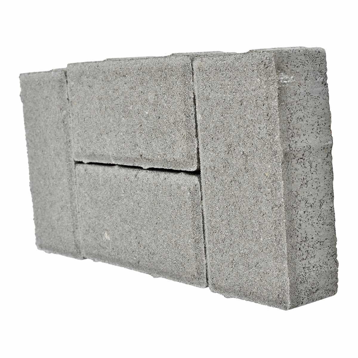 autobloccante mattoncino 10x20x6 cm grigio 50 pezzi / m²