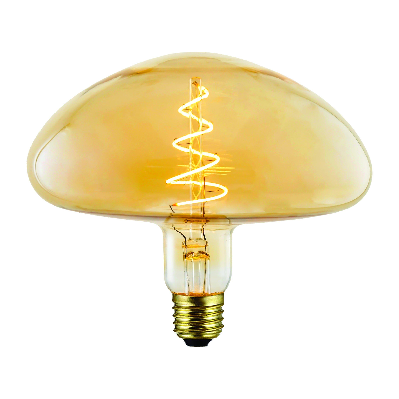 suprema lampadina led  decanter e27 4w=20w 190 lumen 2200k ambrataluce calda