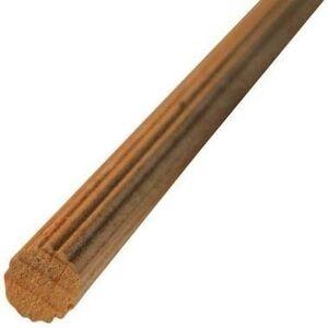 Tondo In Faggio Zigrinato 1 M Ø 6 Mm