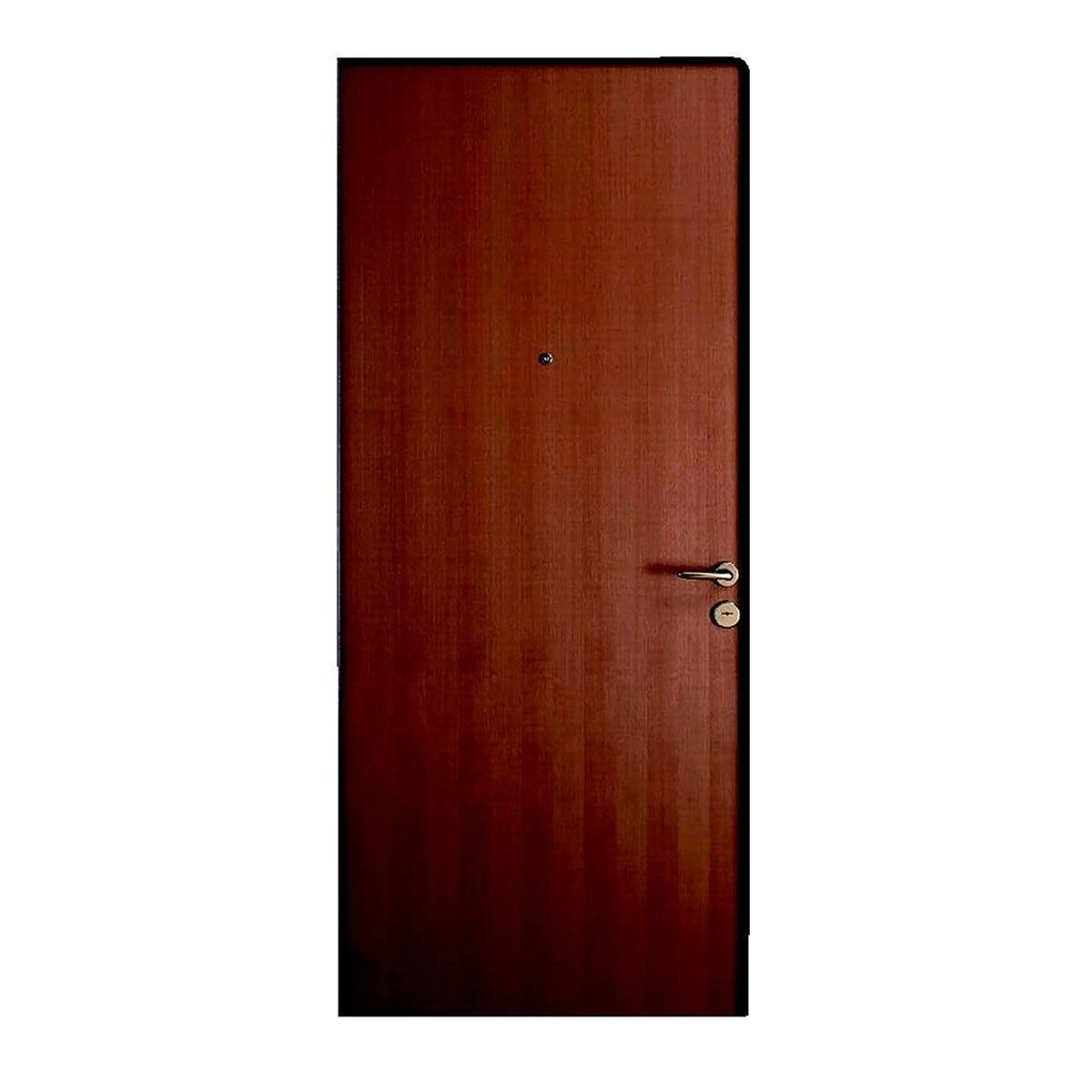Porta Blindata Steel Apertura Spinta A Sinistra 210x80 Cm (Hxl)